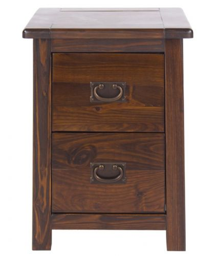 Boston Petite 2 Drawer Bedside